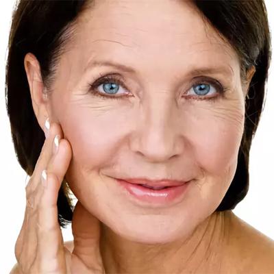 Удаление морщин на лице